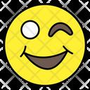 Winky Emoji Emotion Emoticon Icon