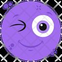 Winky Emoticon Icon