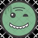 Winky Smiley Emoji Emoticon Icon