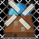 Dutch Windmill Icon