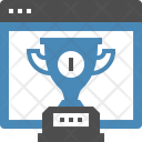 Winner Trophy Medal Icon