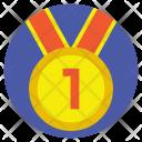 Star Medal Ribbon Icon
