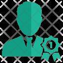 Badge User Avatar Icon