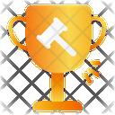 Winner Champion Auction Icon