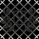 Winner Shield Sword Icon