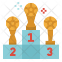 Podium Award Cup Icon