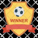 Winner Champion Shield Icon