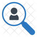 Hiring Search Employee Icon