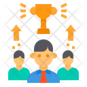 Leader Business Success Icon