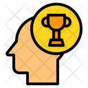 Mind Trophy Thinking Icon