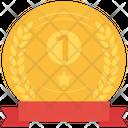 Winner Champion Badge Icon