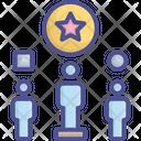 Advantage Differentiation Reward Icon