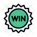Win Badge Medal Icon