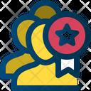 Achievement Participant Marketing Icon