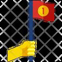 Winner Success Flag Icon