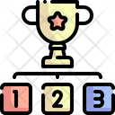Ranking Ranking Factor Podium Icon