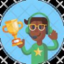 Trophy Winner Sports Winner Icon