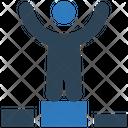 Winner Winnning Employee Icon