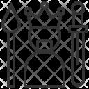 Winner Game Castle Icon
