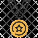 Winner Medal Gym Icon