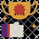 Award Winner Trophy Icon
