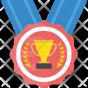 Trophy Laurel Ribbon Icon