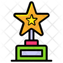 Winner Award Achievement Trophy Icon