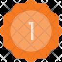 Badge Sticker First Icon
