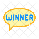 Winner Quote Frame Icon