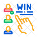 Choose Winner Betting Icon
