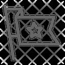 Label Flag Icon
