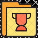 Trophy Folder Winner Folder Icon