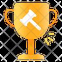 Winner in bid Icon