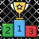 Winner Podium Champion Game Winner Icon