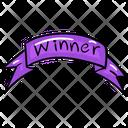 Ribbon Winner Ribbon Success Ribbon Icon