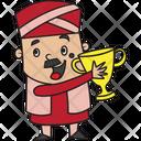 Winner Treasurer Icon