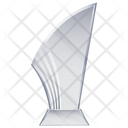Glass Trophy Award Achievement Icon
