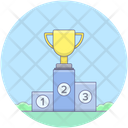 Winner Trophy Trophy Award Icon