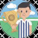 Sports Trophy Referee Icon