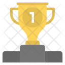 Winners Podium Trophy Icon