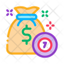 Winning Chips Lottery Icon