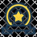 Winning Label Badge Icon