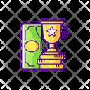 Win Prize Cash Icon