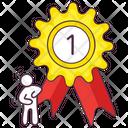 Winning Badge Achievement Badge Reward Icon