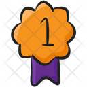 Title Medal Ribbon Quality Icon