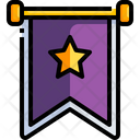 Winning Flag Final Stag Winning Point Icon
