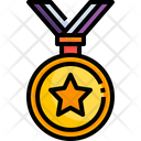 Winning Medal Sports Medal Prize Medal Icon