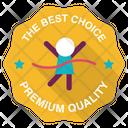 Winning Race Badge Icon