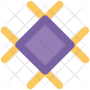 Winter Snowflake Decoration Icon
