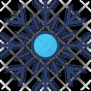 Winter Snowflake Hailing Icon